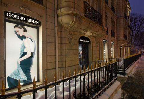 Armani Store a Parigi